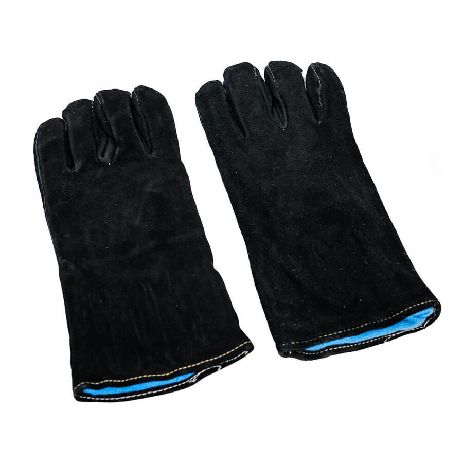 flaming coals heat proof gloves