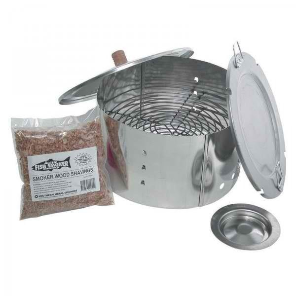 Campfire aussie fish smoker box great for cold smoking for Cold smoking fish