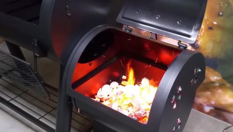 How To Season An Offset Smoker Bbq Spit Rotisserie