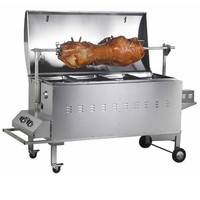 Gasmate Deluxe Gas Spit Roaster- 70kg capacity