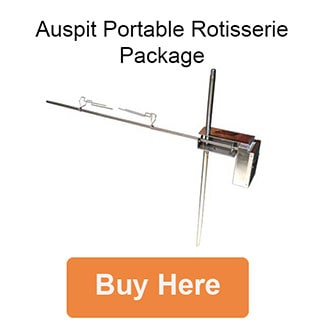 Auspit Portable Rotisserie Package