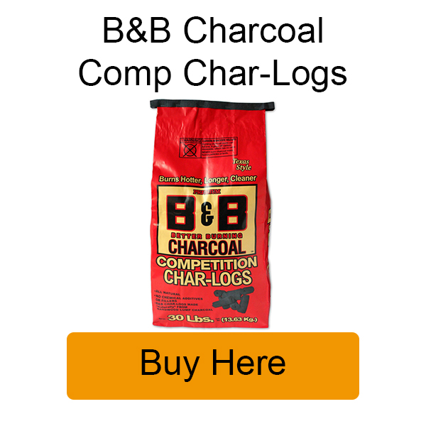 Buy B&B Charcoal Competition Char-logs