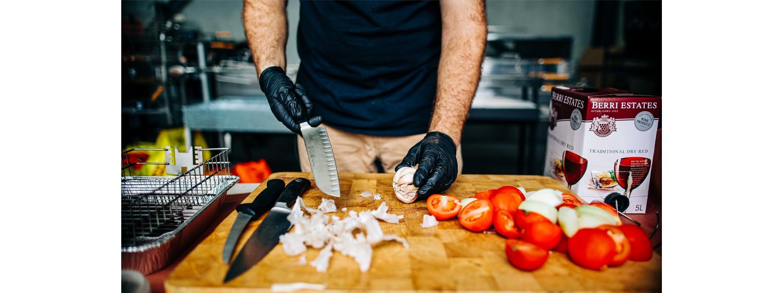 This image shows chopped veggies