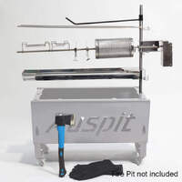 Auspit Gold Portable Rotisserie Package