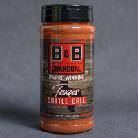 B&B Charcoal Texas Cattle Call Seasoning