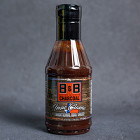 B&B Charcoal Texas Classic Traditional BBQ Sauce