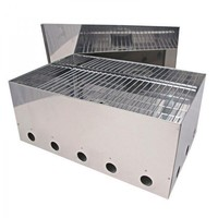 Large Stainless Steel Fish Smoker