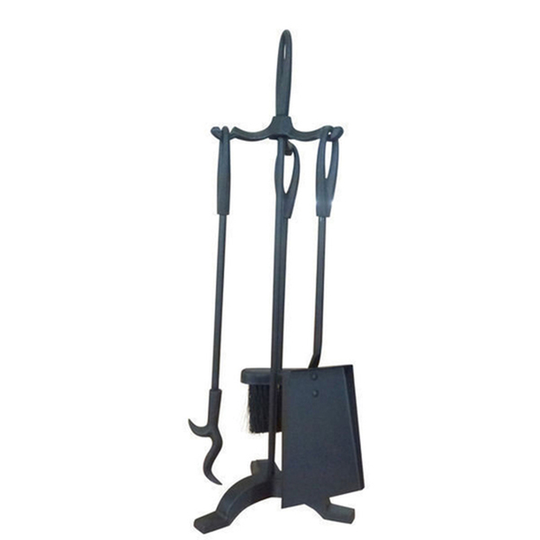 Fireplace  tool set - 3 piece plus stand