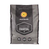 Heat Beads Hardwood Lump Charcoal 10kg