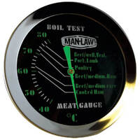 Manlaw Glow-in-the-Dark Meat Temperature Gauge