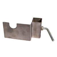 Stainless Steel Skewer Support Bracket - 25mm x 25mm post