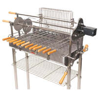 Flaming Coals Deluxe Cyprus Grill Spit - Stainless Steel