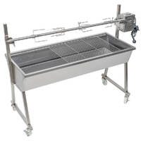 The Master 1200mm Stainless Steel Spit Roaster with 30kg Motor