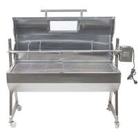1200 Stainless Steel Hooded Spartan Spit Roaster