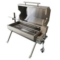 Flaming Coals Dual Fuel Spit Roaster 1000 - 30kg capacity