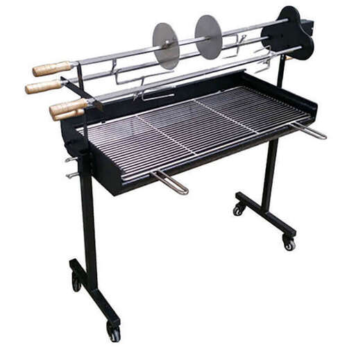 3 Skewer Cyprus Spit Roaster with Charcoal BBQ