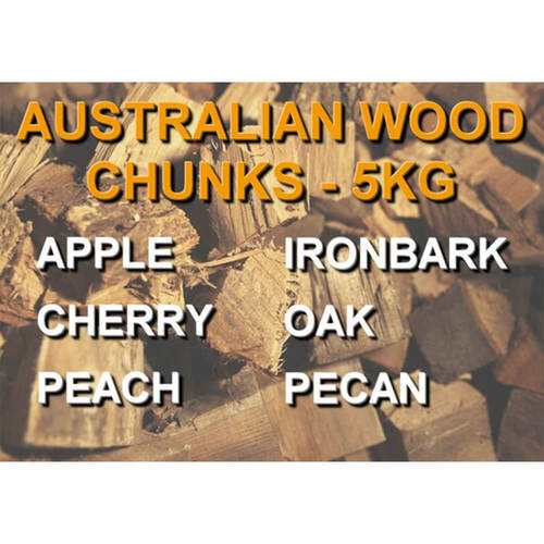 100% Australian Smoking Wood Chunks - 5Kg