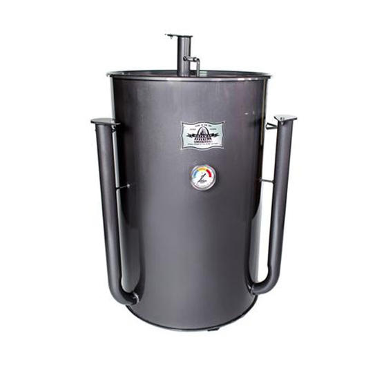 Gateway Drum Smoker 55 Gallon - Grey