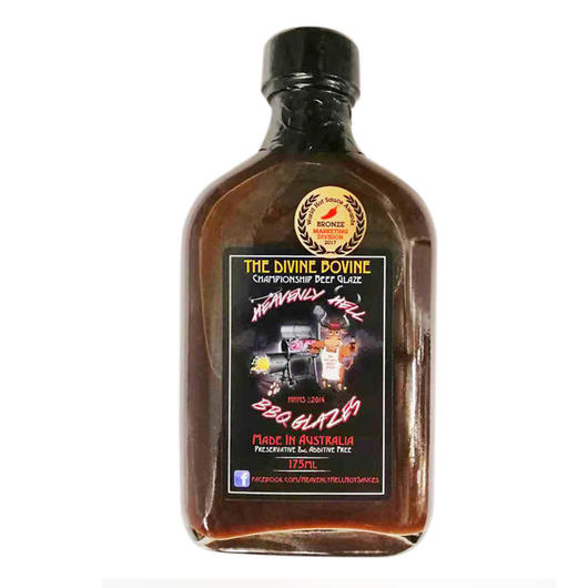 Heavenly Hell The Divine Bovine - Beef/Burnt ends Championship Glaze 175ml