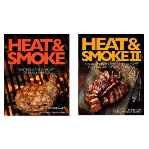 Heat and Smoke Books by Bob Hart Combo