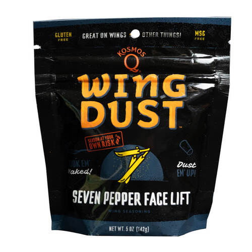 Kosmos Q Seven Pepper Face Lift Wing Dust