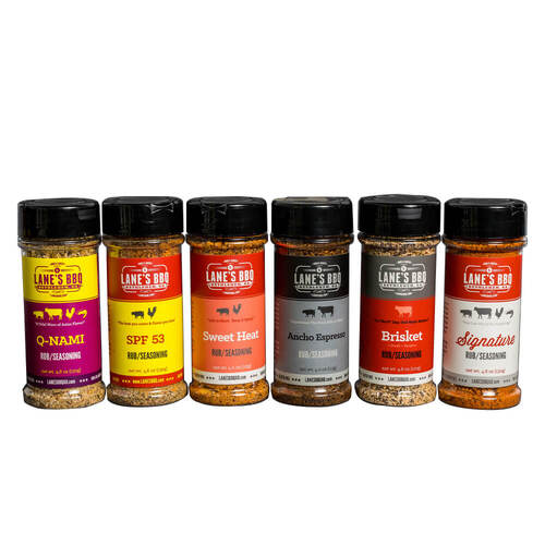 Lane's BBQ ULTIMATE RUB SET COMBO