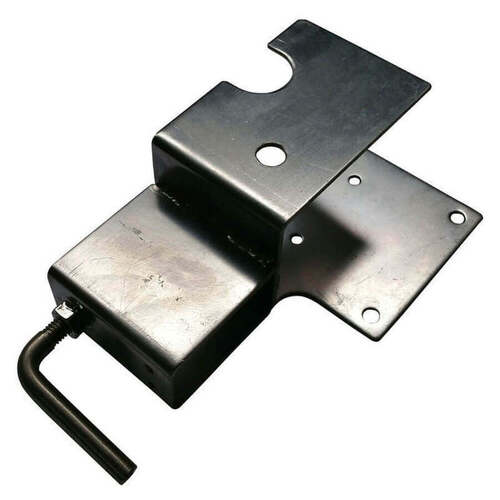 Stainless Steel Spit Rotisserie Bracket 50mm x 25mm (Motor Side Only)