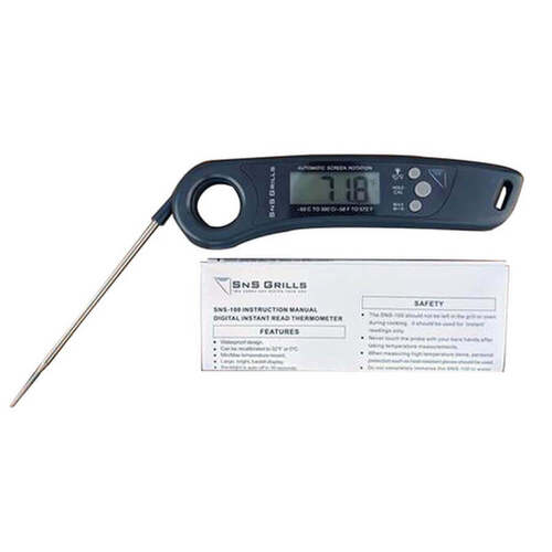 SNS Grills Instant Read Digital Cooking Thermometer