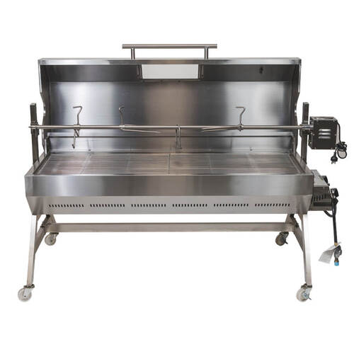 Flaming Coals Gas and Charcoal Spit Roaster 1500mm