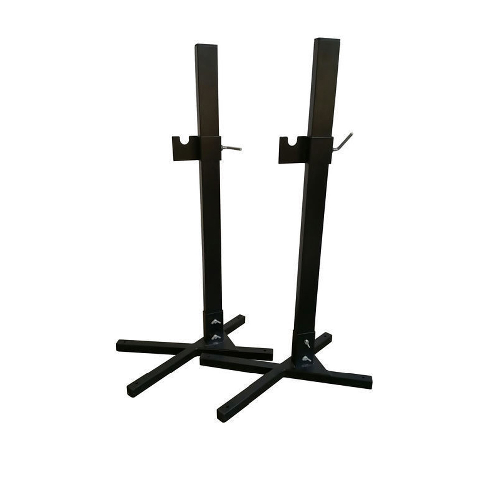 2x Heavy Duty Portable Spit Rotisserie Stands/ DIY Legs